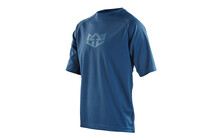Royal Racing DOT Matrix Bike Jersey men dark blue/electric blue